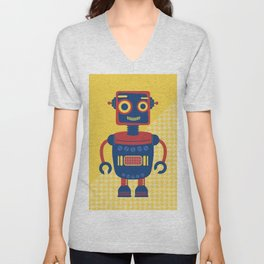 Rob-Bot03 Unisex V-Neck