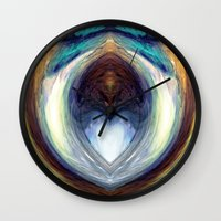 mirror Wall Clocks featuring Mirror  by DreamBeyondArt