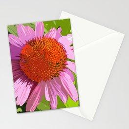 Echinacea, coneflower, purple pink flower Stationery Cards