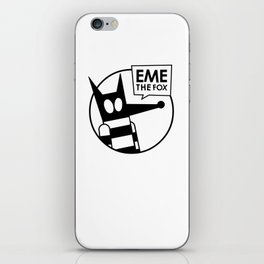 Eme - No Color iPhone Skin