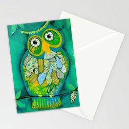 """""""Wisdom Owl"""" Stationery Cards"""