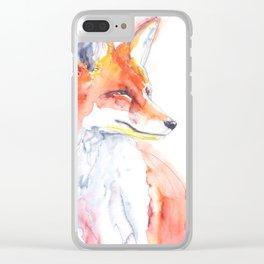 Fox Clear iPhone Case