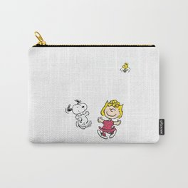Goodbye May Snoopy Carry-All Pouch