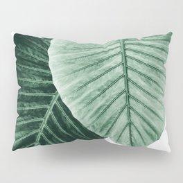 Love Leaves Evergreen - Him & Her #2 #decor #art #society6 Pillow Sham