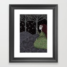 My Winter Stars Framed Art Print