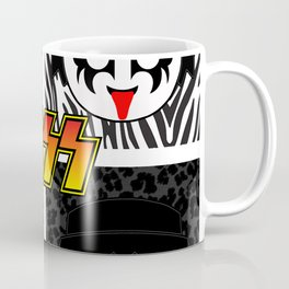 KISS MOBIL / Dynasty - Metal - Creatures of the night - Digital Ilustration - pop art Coffee Mug