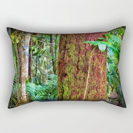 New and old rainforest growth Rectangular Pillow
