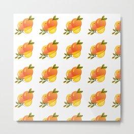 Fruit Series: Oranges version 2 Metal Print