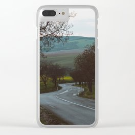 Along a rural road - Landscape and Nature Photography Clear iPhone Case