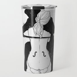 Violin for love. Travel Mug