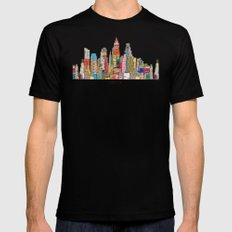 Austin texas LARGE Black Mens Fitted Tee