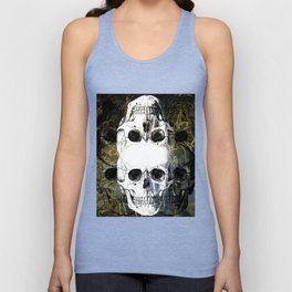 Skull Graffiti 1.0 Unisex Tank Top