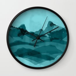 Mountain X 0.1 Wall Clock