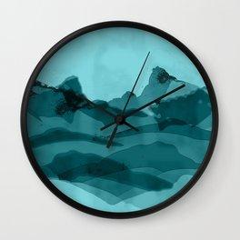 Mountain X 0.1 Wall Clock