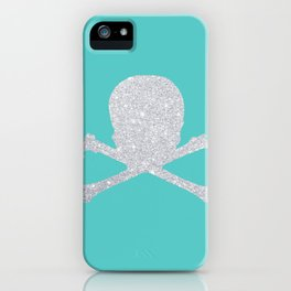 Shiny skull iPhone Case