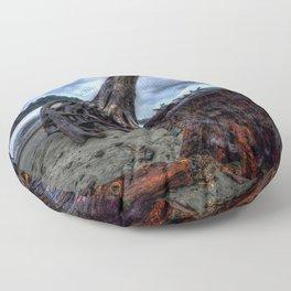 Driftwood Floor Pillow