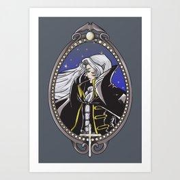 Dracula's Dhampir Art Print