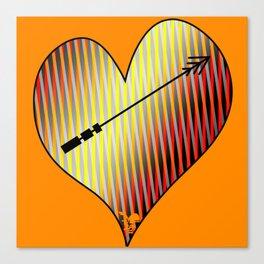 Indigenous Heart Canvas Print