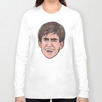 caleb troy Long Sleeve T-shirts featuring Troy by turddemon