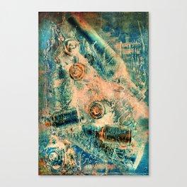 Blue Ocean Cans Canvas Print