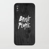 brave iPhone & iPod Cases featuring BRAVE by lopezb91