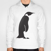 penguin Hoodies featuring Penguin by Cs025