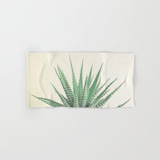 Haworthia Hand & Bath Towel