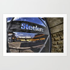 steelers Art Print