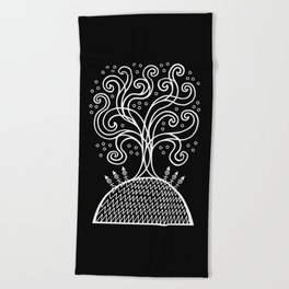 The Rite of Spring Beach Towel