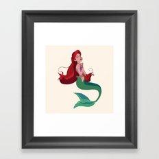 Ariel: Part of your world Framed Art Print