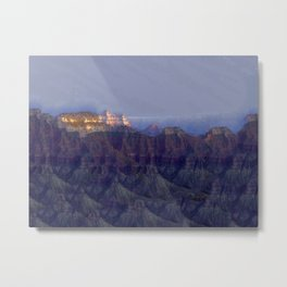 From the North Rim Metal Print