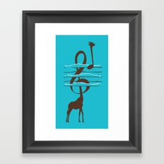 High Note Framed Art Print
