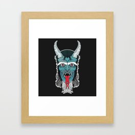 Bestest Beast Framed Art Print