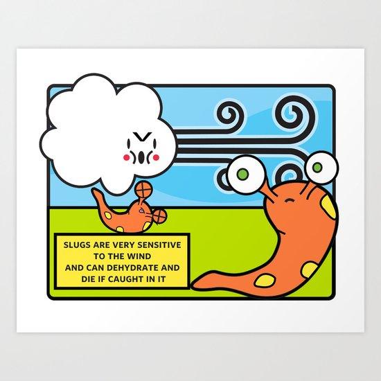 Facts You Should Know: Slugs Art Print