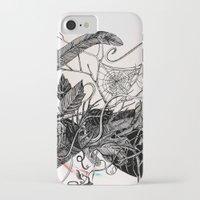 dream catcher iPhone & iPod Cases featuring Dream Catcher by brenda erickson