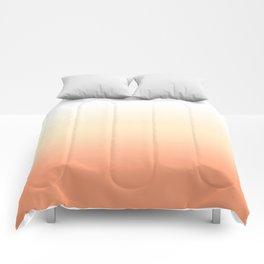 Peach Gradient Comforters