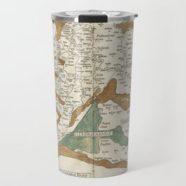 Vintage Map of Mesopotamia (1482) Travel Mug