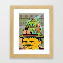 GLAD HATTER 5 Framed Art Print