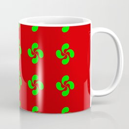 Lauburu 6 - croix basque -turbine,helice,  cross. Coffee Mug