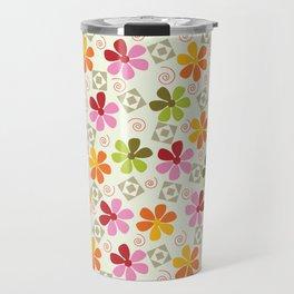 Flowers Pattern                       Travel Mug