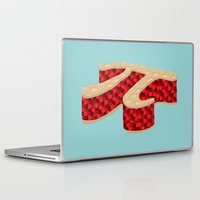 pie Laptop & iPad Skins featuring Pi Pie by Rryan