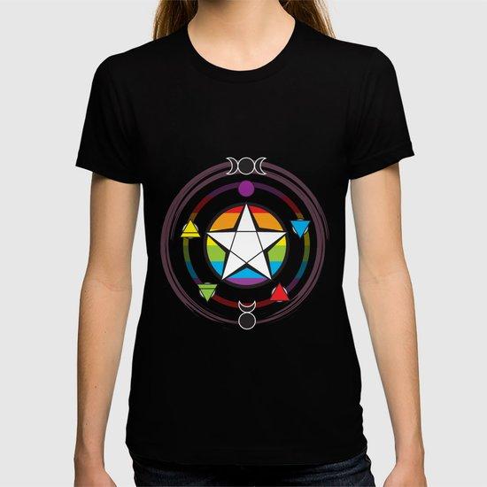 LGBTQ Elemental Pentagram by thecubanwitch