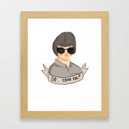 Cava toi? Framed Art Print