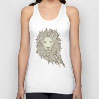 lion Tank Tops featuring Lion by Vickn