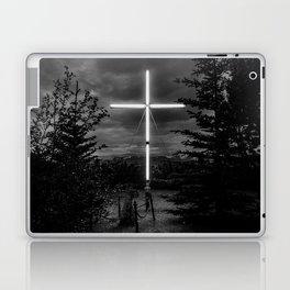 Husavik cross Laptop & iPad Skin