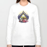 gravity falls Long Sleeve T-shirts featuring Gravity Falls by Matt Tichenor