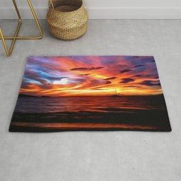 Honeymoon Sunset Rug