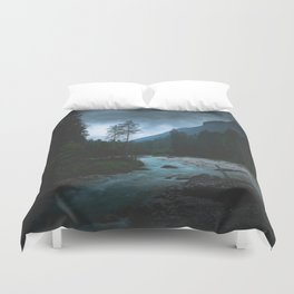 Landscape Mood #creek Duvet Cover