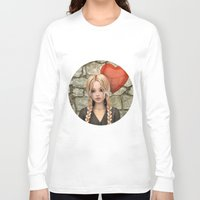 valentines Long Sleeve T-shirts featuring Valentines Day by Design Windmill