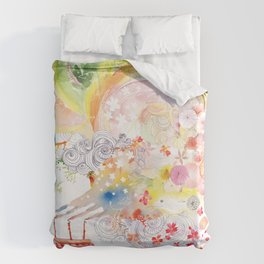 I WISH Duvet Cover
